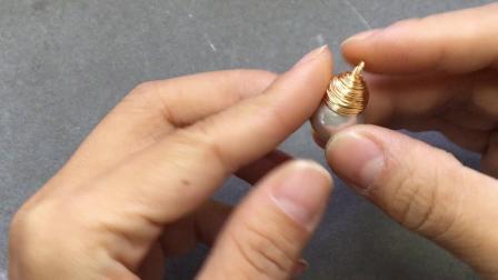 【回眸工坊巴洛克珍珠绕线课程】1-巴洛克珍珠灯泡吊坠
