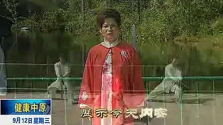 徐勤兰陈式太极单剑教学 44斜飞势 45哪咤探海 46怪蟒翻身
