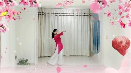 梅子广场舞《你像三月桃花开》1
