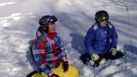 二人转滑雪开创者 强子 雪地二人转 2