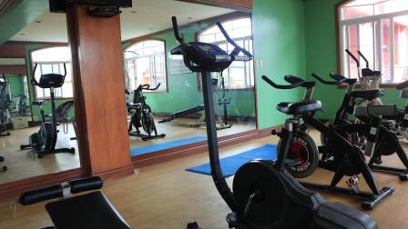 第35th夏令营之皇冠大酒店_附属的健身房设施