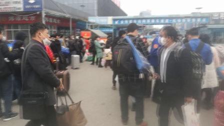 疫情还没结束,为了生存,从老家到贵阳金阳车站旁工地打工!