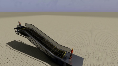Fuzor2020-自动扶梯模拟
