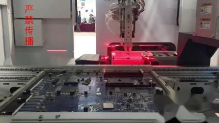 异型元件-DIMM条生产线插件视频1