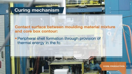 Process of inorganic core production with INOTEC