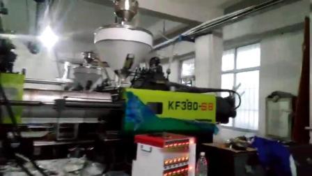 宝捷KF398-S8高速薄壁专用注塑机4腔生产美式6828分格餐盒