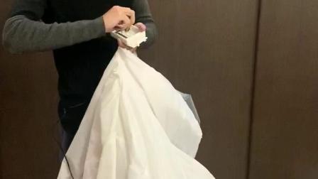 充气人偶服使用方法