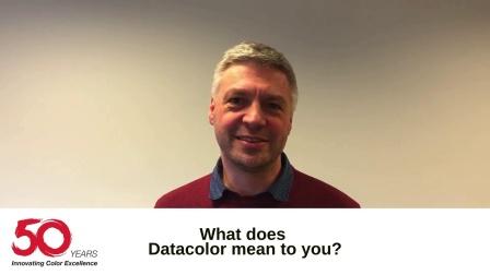 Datacolor 50周年视频(欧洲)