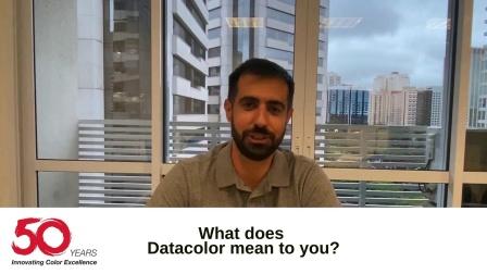 Datacolor 50周年视频(美洲)