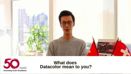 Datacolor 50周年视频(亞洲)- 员工感言【我心中的德塔】