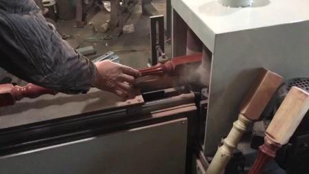 立柱方头打磨机打磨视频