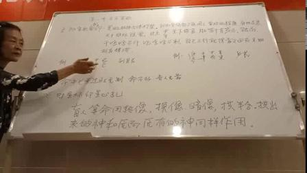 杨清娟盲派八字命理【济南班】偷录第2集