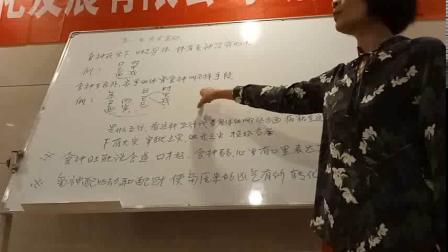 杨清娟盲派八字命理【济南班】偷录第3集