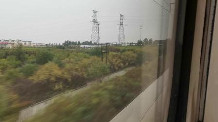 20191004 143514 G87次列车保定东站越行G661次列车
