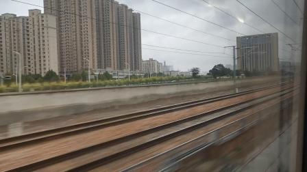 20191004 150159 G87次列车限速通过石家庄站