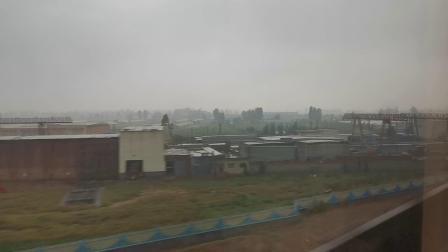 20191004 161036 G87次列车运行于新乡东站至郑州东站区间