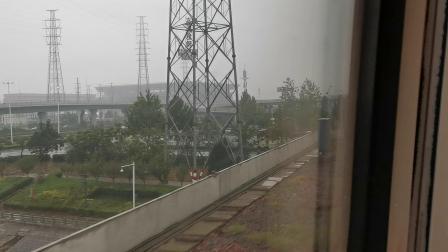 20191004 162545 G87次列车进郑州东站