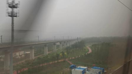20191004 163405 G87次列车出郑州东站