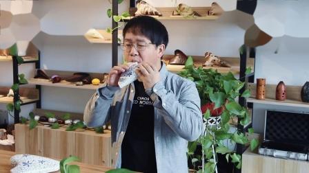 【凡土】三管青花陶笛AC调演奏《乌兰巴托的夜》演奏者:林风