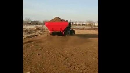 有机肥施肥机有机肥抛撒机农家肥撒肥机爱采购视频