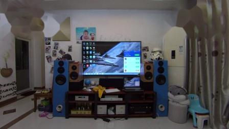 DIY音箱试音 惠威D6.8B-老董铍铜膜高音-300B单端.MP4