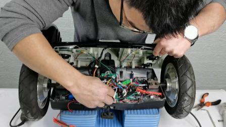 傲凤电池F1和A8平衡车电池的拆装演示