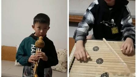 古筝葫芦丝合奏《四季调》