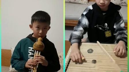 葫芦丝古筝合奏《四季调》