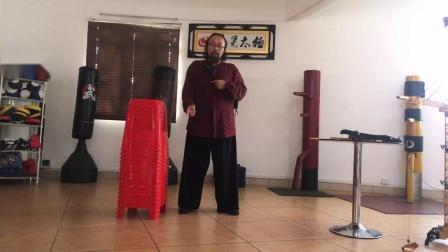 漾太极-马金宏老师表演一指劈筷子