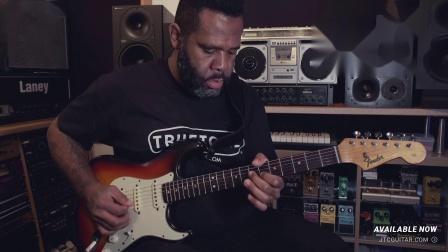 Kirk Fletcher - Poker Face (Improvised Blues Shuffle Solo)