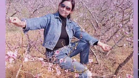 南阳红泥湾小娟广场舞,我们这里的桃花开了。好美呀