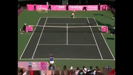 Maria Sharapova vs Shahar Peer Fed Cup QF 2008