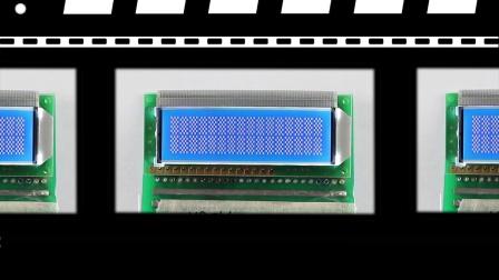 Monochrome LCD Modules / VBC1602TH-A(BL).mp4