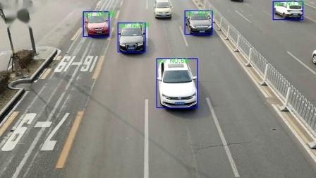 云上作dooncloud基于车辆识别车流量统计测试视频