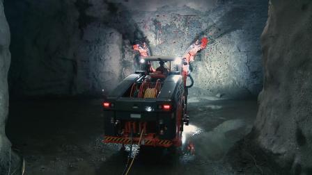 山特维克(Sandvik) DD422iE凿岩台车.mp4