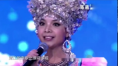 中国达人秀:膜拜大神!反串歌手陈涓男女声随意切换,看呆评委!_超清