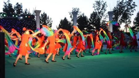 梦飞鱼健身舞队2016.8.26望奎县首届文化艺术节开场舞-吉祥颂
