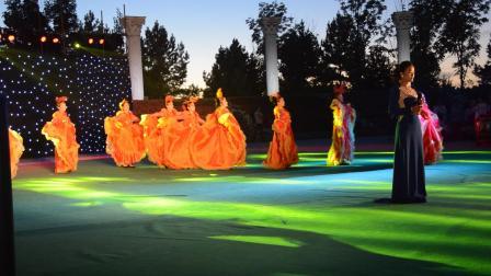梦飞鱼健身舞队2016.8.26望奎县首届文化艺术节伴舞-晚风吹过哨塔
