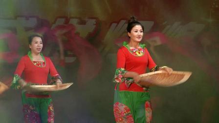 梦飞鱼健身舞队2018.9.19望奎县艺术节簸箕舞-好收成