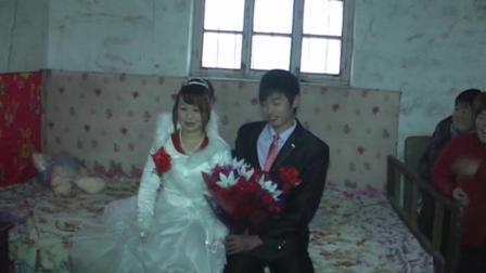 侯子乐许玉红的结婚录像