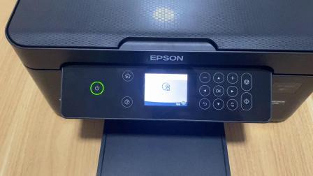 爱普生4100全新机收到安装连供