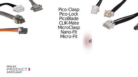 莫仕焦点产品OTS Discrete Wire Assemblies散装线缆
