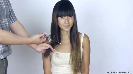 Hair2U - Martina Long to Pixie Haircut Preview
