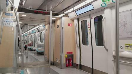 成都地铁7号线体验(神仙树—太平园区间)