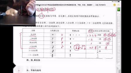 基本乐科考级教程(一级,二级)第一课
