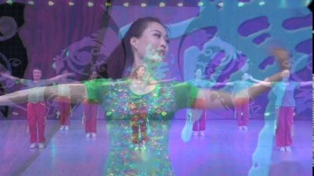 《第十六季 第八集  怒放的生命 表演》艺佳怡广场舞_82