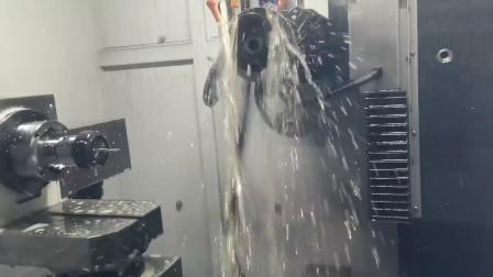 千岛机械A5五轴数控磨床磨削医疗刀演示