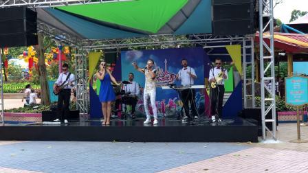 2018广州长隆乐园外国乐队现场演唱会