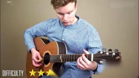 如果吉他难度分十级的话, 你属于哪一级_标清