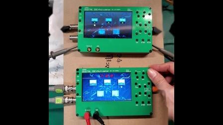 LD2502-FPGA-STM32F4示波器+万用表+波形发生器使用介绍.mp4